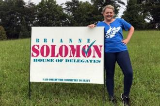 Brianne Solomon teaches art and dance to junior high and high school students in