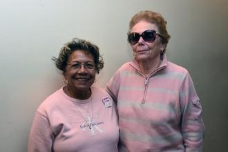 Dorothy Kahn and Carolyn Tilman are among many of the members who were decked ou