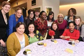 UFT sisters from every borough joined in celebration of their stories and those