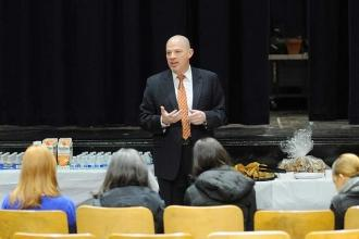Mulgrew discusses teacher evaluations, Gov. Cuomo's State of the State speech an