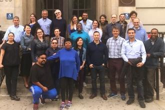23-	M575 staff show wear blue to show solidarity for students with autism disord