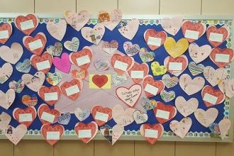 Love from PS 157 in the Bronx.