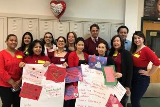 Love from Gregorio Luperon HS for Science and Math in Washington Heights.
