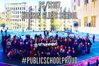 #PublicSchoolProud at PS/IS 187 in Washington Heights.