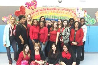 Teachers and paraprofessionals at the District 29 Jamaica Ave Pre-K Center are #