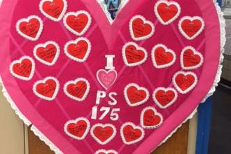 Love from PS 175 in Forest Hills, Queens.