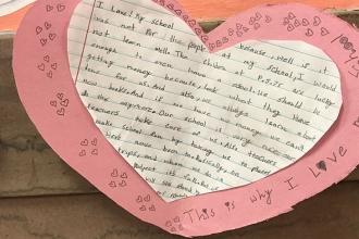This student at PS 75 in Longwood, the Bronx explains why she loves her school.
