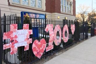 Students at PS 748 in Bath Beach, Brooklyn have 100 reasons to love their school