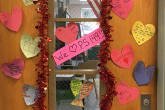 Lots of love for PS 149 in Jackson Heights, Queens.