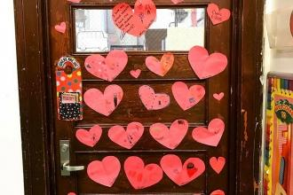 Love from PS 97 in Woodhaven, Queens.