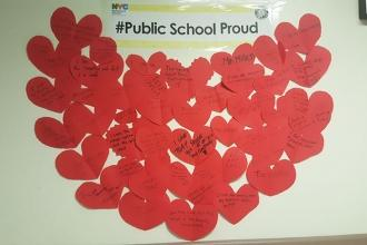 Bronx HS for the Visual Arts is #PublicSchoolProud.