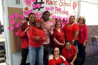 #PublicSchoolProud at PS 314 in East Morrisania, the Bronx.