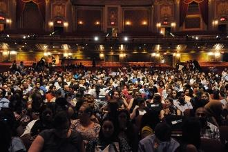 New teaching fellows pack the Kings Theater.