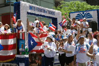 The UFT float.