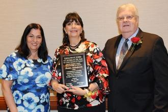 Renee Setteducato, the winner of the Federation of Nurses/UFT Retiree of the Yea