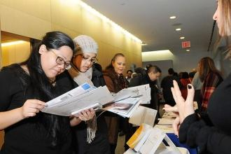 Members browse resources and information from a robust vendor fair.