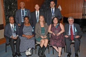 The UFT was proud to recognize the accomplishments of these middle school chapte