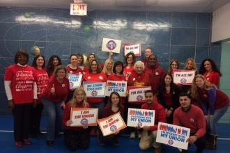 Educators at PS 229 in Woodside, Queens are sticking with their union.