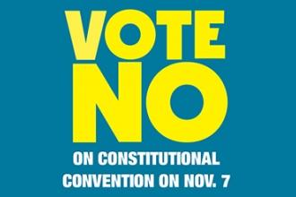 Vote No on Constitutional Convention