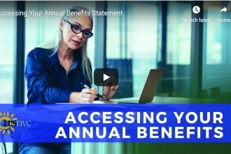 Accessing your Annual Benefits Generic