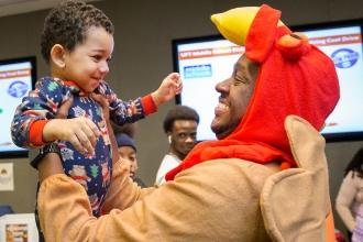 Thanksgiving Luncheon for Homeless Students 2019