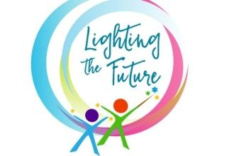 Lighting the future graphic