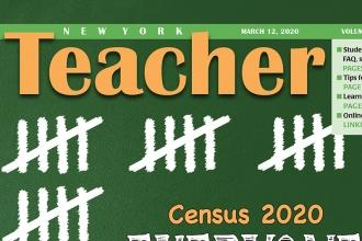 NY Teacher Cover - Volume LXI #5 2020-0312