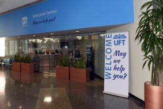 UFT welcome center