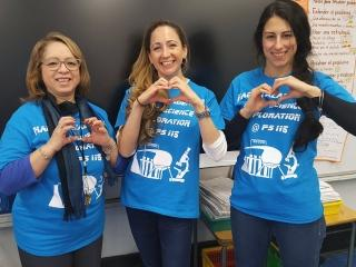 These educators from PS 115 in Manhattan are all heart.