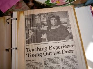 This photo of Fried ran with a 1991 article that appeared in Newsday, in which s