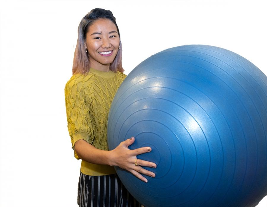 Dikyl Wangmo, physical therapy assistant