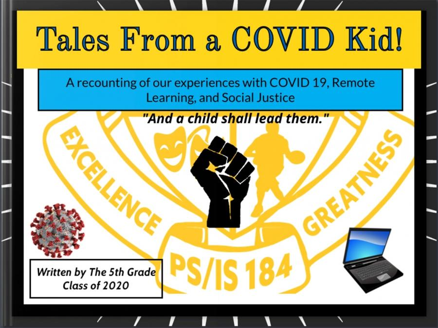 Writing about Covid Kid Cover