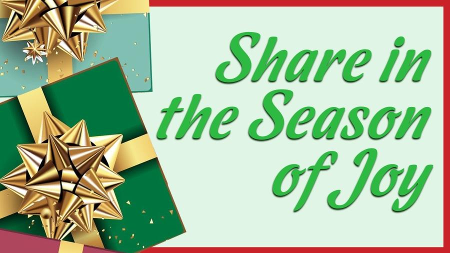 Share in the season of joy