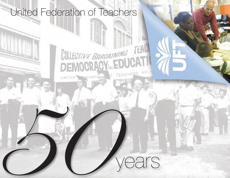 United Federation of Teachers: 50 Years - cover