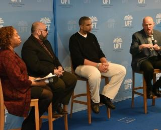 Changing School Climate was the topic of discussion at a recent panel featuring