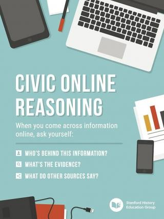 Civic online reasoning book cover