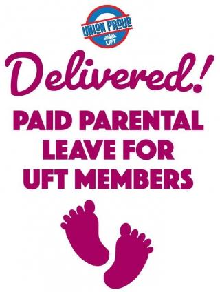 Paid parental leave | United Federation of Teachers