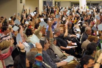 UFT Delegate Assembly votes to authorize impasse